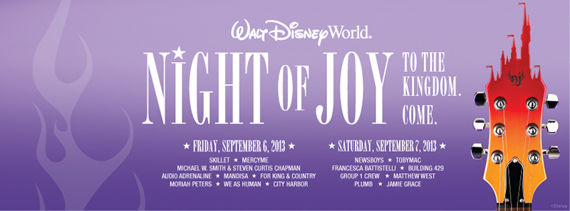 Celebrate Night of Joy at Walt Disney World In September