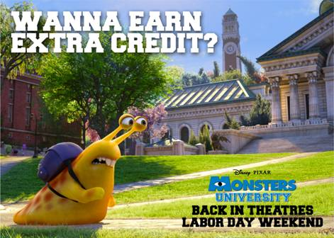 Monster's University Back Returns to Theaters Just for Labor Day Weekend