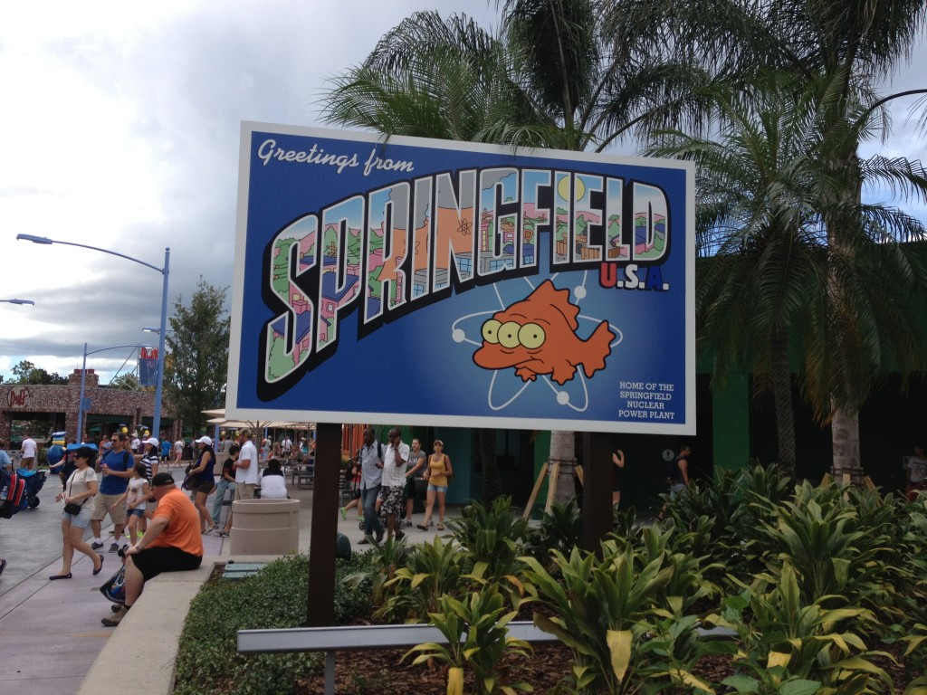 Spend The Day In Springfield With The Simpsons at Universal Orlando