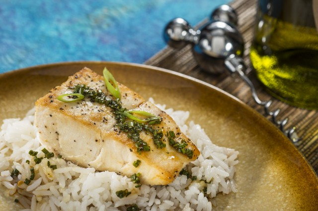 Singapores Mahi Mahi with Jasmine Rice