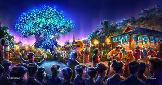 Disney Unveils Plans for  AVATAR and New Nighttime Show at Disney's Animal Kingdom