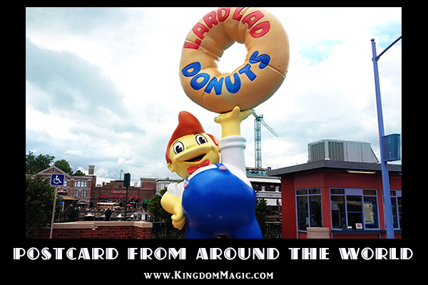 A Postcard from Springfield at Universal Orlando