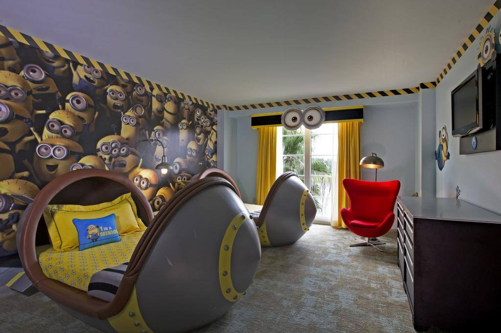 Go Behind-The-Scenes of the New Minion Rooms at Universal Orlando Resort