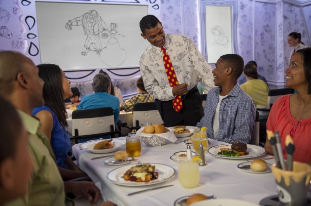Re-imagined Disney Magic Debuts New 'Drawn to Magic' Dinner Show