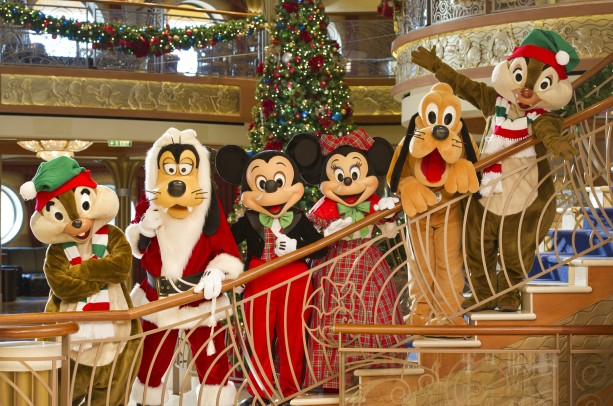 Share The Holiday Spirit with Disney Cruise Line