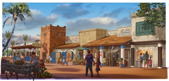 Spice Road Table Coming to Morocco Pavilion at Epcot