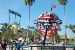 Packet Pick-up at ESPN Wide World of Sports