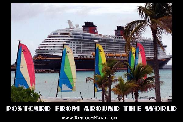 A Postcard from the Disney Dream and Castaway Cay