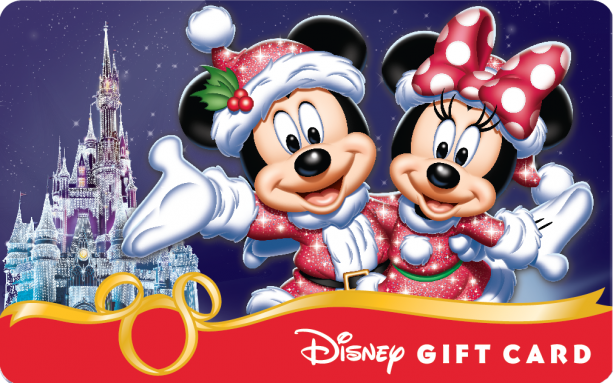 Smart Phones Magic to New Holiday-Themed Disney Gift Card Designs