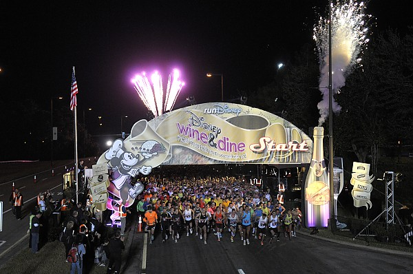 Kingdom Magic Runners Look Forward to Wine & Dine Half Marathon Weekend