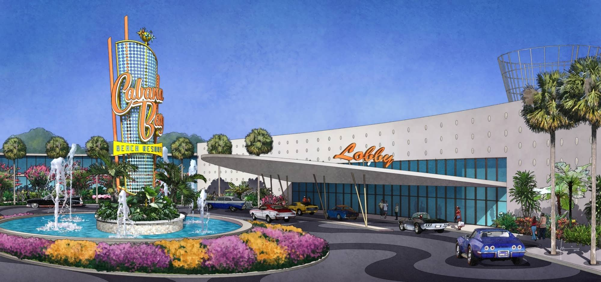 Universal Orlando S Cabana Bay Beach Resort Opens In 2017